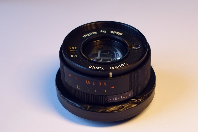 Adapted Manual Lens Aperture Ring Not Working
